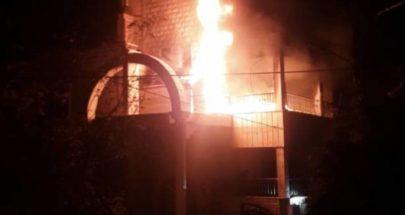 حريق بمنزل في طيردبا image