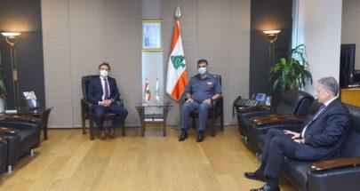 عثمان عرض الاوضاع مع سفير قبرص image