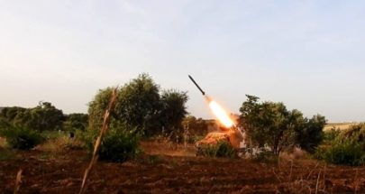 الفصائل الموالية لتركيا تقصف مواقع القوات الكردية في ريف حلب الشمالي image