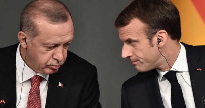 ماكرون يدعو أردوغان لالتزام الاحترام في تصريحاته image