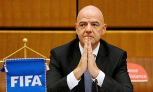 """رئيس """"فيفا"""" أصيب بكورونا... وهذه حالته! image"""