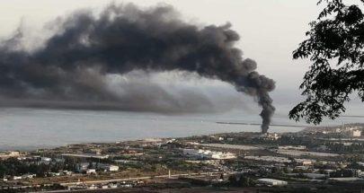 بالصور حريق كبير في المنية... دخان أسود كثيف يغطي سماء المنطقة image