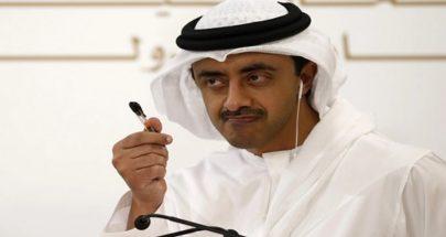 عبد الله بن زايد: مصممون على تعزيز العلاقات مع أميركا image