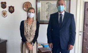 درويش بحث مع سفيرة ايطاليا العلاقات بين البلدين ودعم قطاع التعليم image