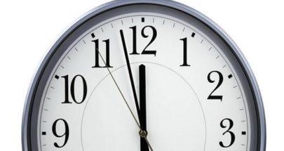 لا تنسوا تأخير الساعة منتصف هذه الليلة image