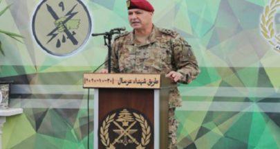 قائد الجيش: حاضرون بقوة على كامل الحدود الشرقية image