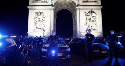 الشرطة الفرنسية تخلي وتقفل محيط قوس النصر وسط باريس image