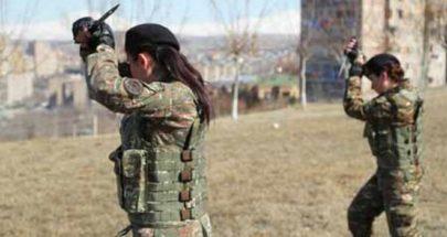 أرمينيا تعلن عن تشكيل كتيبة نسائية للقتال في قره باغ image