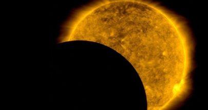 ناسا تلتقط لحظات مثيرة حجب فيها القمر رؤية الشمس عن مرصد فضائي image