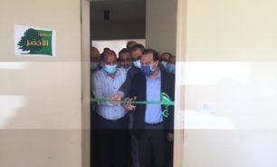 مرتضى افتتح المشروع الأخضر في سرايا الهرمل: سيكون بخدمة الجميع image