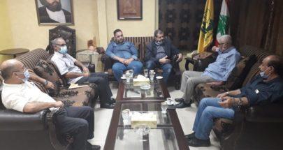 لقاء بين حزب الله ووفد الجبهة الشعبية في صيدا :لوحدة الصف والمقاومة ضد الاحتلال image