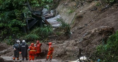 عشرات القتلى والمفقودين إثر انهيارات طينية في السلفادور image