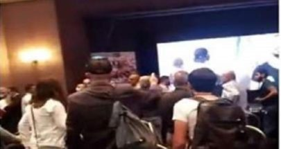 """إشكال خلال مؤتمر للقوى المجتمعية وقوى 17 تشرين في """"لو رويال"""" ضبيه image"""