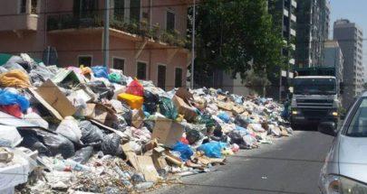 بلديات الضاحية ترفع اطنان النفايات image