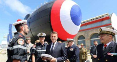 فرنسا تطلق بنجاح أول صاروخ كروز من غواصة image