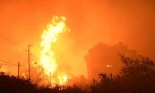 العناية الالهية أنقذت بنتاعل من كارثة... إخماد حريق كبير في البلدة image