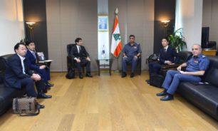 عثمان استقبل وفدا من وكالة الشرطة الوطنية في اليابان image