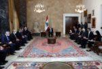 لافرنتييف من بعبدا: نتمنى مشاركة لبنان في المؤتمر المخصص لعودة النازحين image