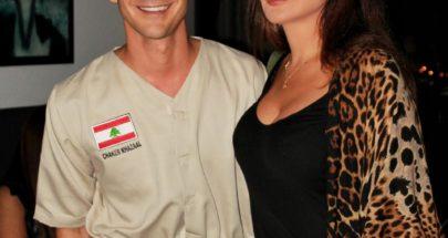 بالصور.. الكاتب شاكر خزعل يحتفل مع النجمة إليسا بروايته OUCH! image