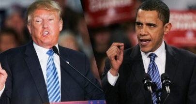 """أوباما يتهم ترامب بأنه """"أخفق تماماً"""" في إدارة أزمة كوفيد-19 image"""