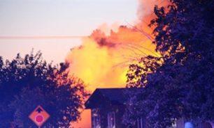 إجلاء 60 ألف شخص بسبب حريق غابات قرب لوس أنجليس image