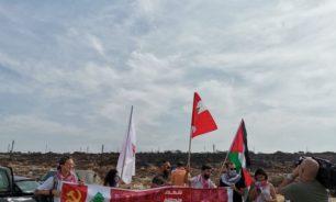 اعتصام للحزب الشيوعي في الناقورة احتجاجًا على مفاوضات الترسيم image