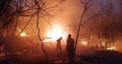 جهود عناصر الدفاع المدني تنجح في اخماد حريق أحراج الكنيسة - المتن image
