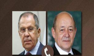 لافروف ولودريان: لا بديل عن التسوية الدبلوماسية في قره باغ image