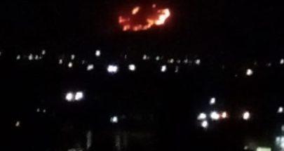 الدفاع المدني يفقد السيطرة على حريق في القاع image