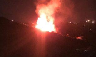 بالصور... تجدد النيران في بنتاعل image