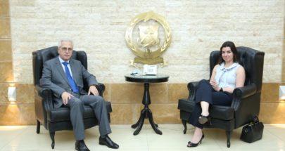 العميد خطار يستقبل نائب سفير قبرص في لبنان image