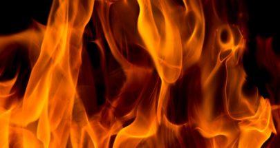 حريق في خراج بلدة قبعيت العكارية image