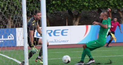المرحلة الخامسة من الدوري العام لكرة القدم من بطولة لبنان image