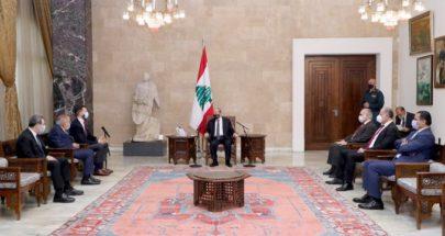 كتلة اللقاء الديمقراطي تسمي الحريري لتشكيل الحكومة image