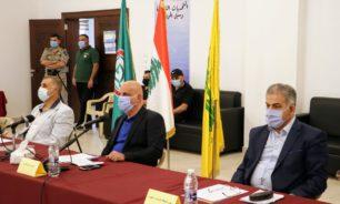 خريس وحسن عزالدين: لحكومة إنقاذية جامعة image