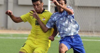 فوز النجمة والعهد والأخاء الاهلي في بطولة لبنان لكرة القدم image