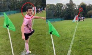 بدون أن ينظر إلى الكرة.. لاعب يسجل هدفا عالميا من ركلة ركنية image