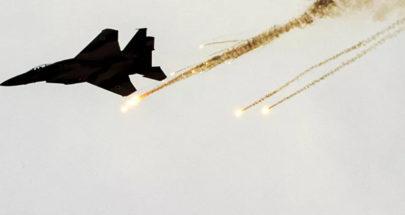الطيران الإسرائيلي يقصف مدرسة في ريف القنيطرة الشمالي image