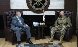قائد الجيش عرض شؤون المنطقة مع كوبيتش والتقى الصمد image