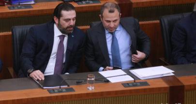 بين الحريري وباسيل... رسائل مشفرة على حساب التشكيل image