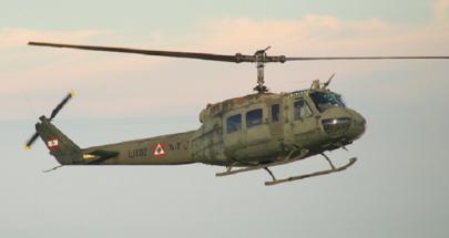 طوافات الجيش باشرت حملة مكافحة جاذوب السنديان image