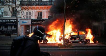 فرنسا.. إصابة 62 شرطياً واعتقال العشرات في الاحتجاجات image