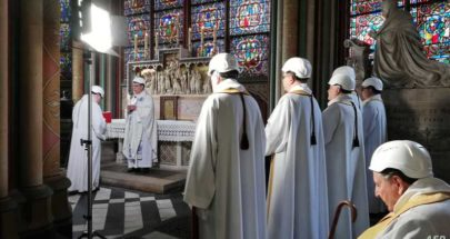 منذ الحريق.. أول أمسية موسيقية في كاتدرائية نوتردام image