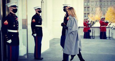 بالفيديو والصور.. ميلانيا ترامب تستقبل شجرة عيد الميلاد في البيت الأبيض image