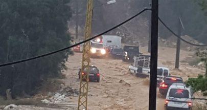 بحيرات الأمطار تتكرر... وزارة الاشغال: قمنا بواجباتنا على أكمل وجه! image