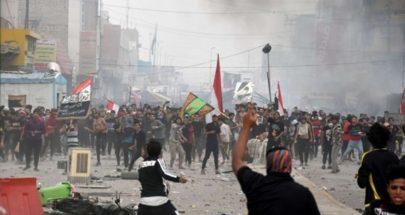 قتلى وجرحى في الناصرية بين متظاهرين وأنصار التيار الصدري image