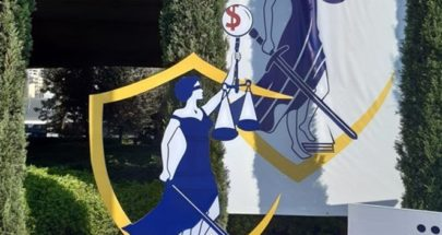 التيار الوطني الحر يضع مجسم الحقيقة في ساحة 7 آب image