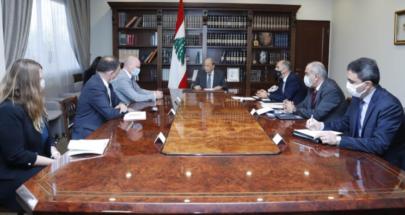 سفير المانيا بحث مع الرئيس عون تفعيل اتفاقيات التعاون بين البلدين image
