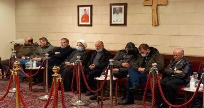 بالصور... حزب الله يعزي بجوزيف طوق في بشري image