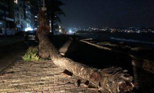 الامطار حولت بعض شوارع صور الى مستنقعات image